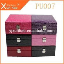 PU leather jewelry box wholesale,made in China