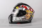 2014 two visor with ECE /DOT HELMET new ABS material double visor full face motorbike helmet JX-FF005