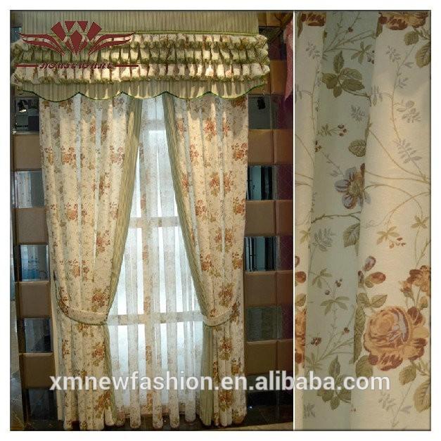 Gebloemde stof mooie prinses gordijn kind kamer gordijn gordijn product id 60101522500 dutch - Kamer gordijnen kind ...