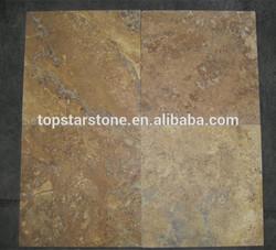 Gold Travertine Honed Paver