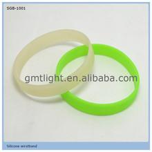 china factory supply led light silicone bracelet promotion gift