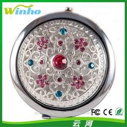 Winho Compact Mirror Emeralds design