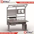 Ue EN60598 normas de segurança multifuncional banco com altura ajustável