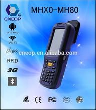 MH80 RFID barcode scanner pda wireless