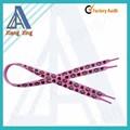 Flat Polyester shoelace wholesale