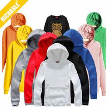 HS018 Fashion blank hoodies