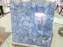 Natural Blue aventurine round granite kitchen tables