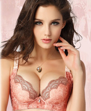 brand Lynx explosion models soluble flower girl sexy and elegant lingerie gather strong bra wholesale