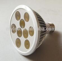 CE Rohs energy star listed led 18w par38 light fitting