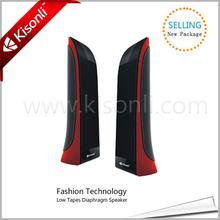 Newest fashion usb 2.0 mini digital universal laptop computer woofer speaker