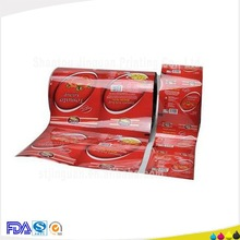 Top quality BOPP printed plastic film seed packing