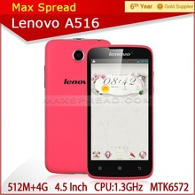 Alibaba In Spanish Express Latest China Mobile Phone IPS Screen Dual Core 1.3GHz Cell Phones Lenovo A516 Lenovo Smart Phone