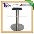 aço inoxidável escovado base de mesa atacado