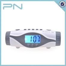 Customized Plastic Retro Alarm Clock Radio with Torch