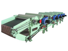 Simple Textile Waste Recycling Machine With Two Roller