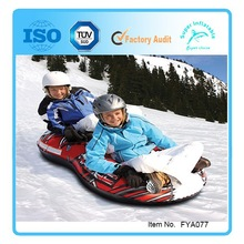 Figure 8 Snow Tube inflatable snow skis 2 rider