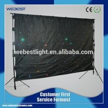 WB-LSCC- RGBW Dmx Stage Table Starcloth, Led Flex Curtain
