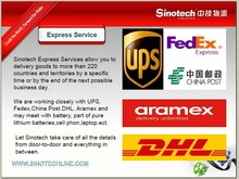 Alibaba air express DHL shipping from China to Italy