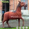 De tamaño natural robótica caballo modelo