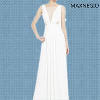 2015 Full skirted dress taobao wedding dress with small cap sleeve