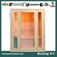 2014 new mini wood steam sauna room cabin