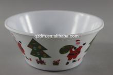 V Shape Melamine Bowl For Christmas Holiday