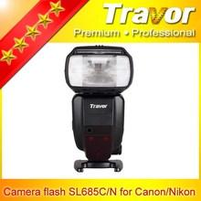 Travor sl685n camera flash for Nikon studio lighting competitive for nikon flash