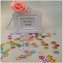 Colorful Flower Acrylic Confetti Decoration For Wedding Favor