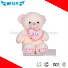 Wholesale cheap teddy bear with heart