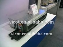 Medium static water fan coil unit