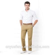 Men's 100% cotton simple trousers professional manufacturer MLS231