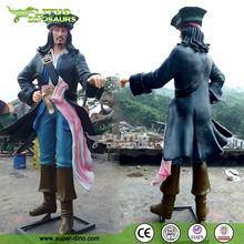 Amusement Park FRP Statue Pirate Life Size