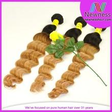 Factory discount top grade brazilian virgin hair color brand names