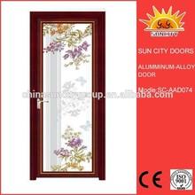Top Quality leaded glass interior doors SC-AAD074