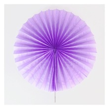 Paper Party Decorations Tissue Paper Fan PAPER Flowers ROSETTES lilac Baby Shower PARTY DECORATIONS