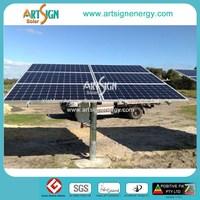 ground mounted solar pole mounting system photovotaic solar panel installation