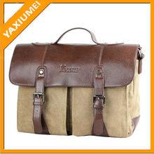 Leather messenger vintage camera bag canvas camera bag