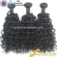 Unprocessed 100 Human Hair Extension Hair Weave Bebe Curl Weave