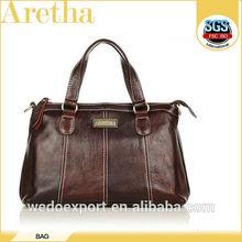 beautiful cute fashion soft leather handbags with hand artwork