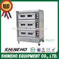 Utilizado equipos de panadería / horno árabe pan / gas cubierta horno