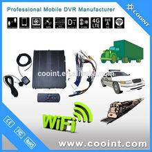 3G+GPS H.264 HDD Storage 8ch Vehicle Digital Video Recorder support SOS alarm intercom PTZ