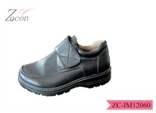 Anti-slip pu african shoes for men elevator shoes