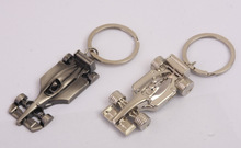 custom metal motorcycle race F1 model keychain