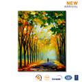 Célèbre belle peinture à l'huile moderne de l'automne des arbres