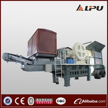 China Reliable Performance and High Flexible Small Mobile Crusher for Aggregate