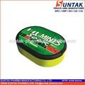 تسمية خاصة البطيخ الحامض الحلوى الصلبة في مربع من البلاستيك