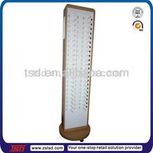 TSD-W377 hot sale floor rotating display stand for glasses/sunglasses display shelf/optical shop equipment