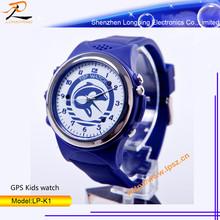 2014 new fashion design GPS kids watch tracker watch phone