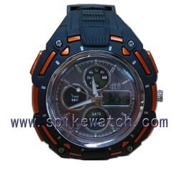 Multifunctional digital-analog sports watch sports direct