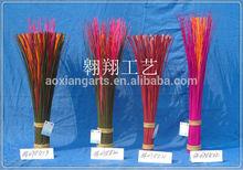 fashionable wicker dried flower,handmade wicker decorate